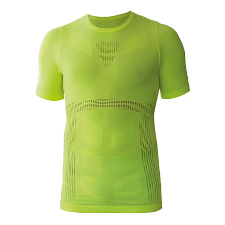 Iron-ic 4.0 Extralight Rete T-Shirt // Lime Yellow (S/M)
