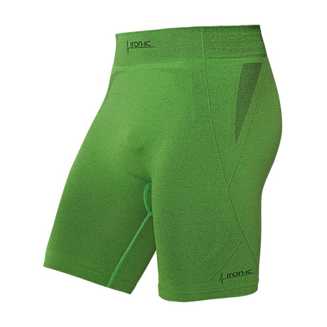 Iron-ic 2.1 Breathable Cyclist Shorts // Green (S/M)