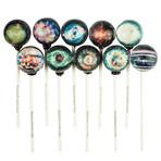 Galaxy Spirals Lollipops // 10-Pieces