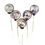 Vintage Kiss Comic Lollipops // 10-Pieces