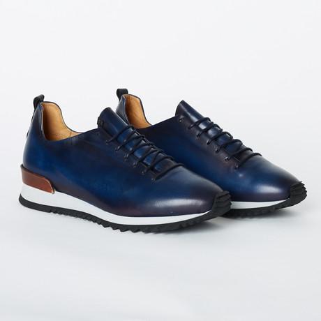 Carrera Sneaker // Blue (Euro: 40)