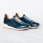Carrera Sneaker // Prince Blue Cuoio (Euro: 45)