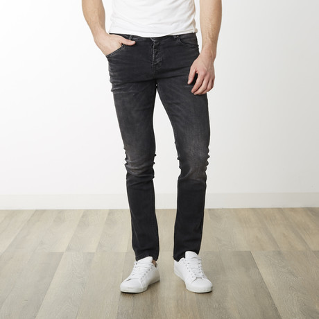 Amsterdam Fit Straight Pants // Black (29WX32L)