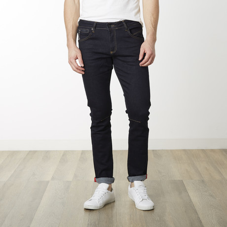 Milano Slim Fit Pants // Navy (29WX32L)
