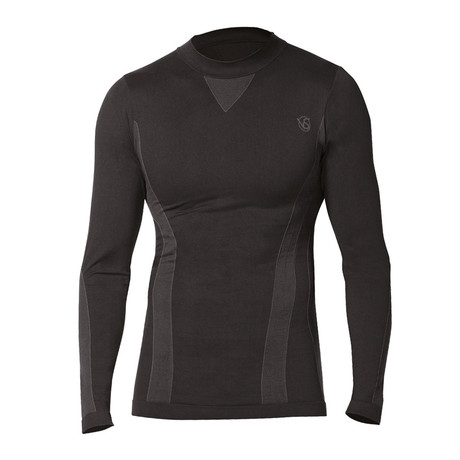 Iron-ic 4.0 Long Sleeve Fleece T-Shirt // Black (S/M)