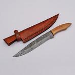 Damascus Fillet/Boning Knife // 9811