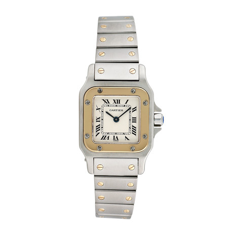 Cartier Santos Galbee Quartz // Pre-Owned