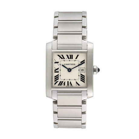 Cartier Midsize Tank Francaise Quartz // Pre-Owned