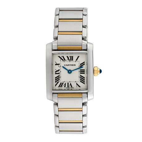 Cartier Tank Francaise Quartz // Pre-Owned