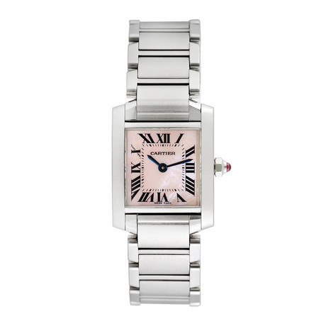 Cartier Tank Francaise Quartz // 764-TM11196 // Pre-Owned