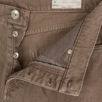 Brunello Cucinelli // Denim Cotton Five Pocket Jeans // Brown (50)
