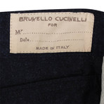 Wool Five Pocket Jeans // Navy Blue (46)