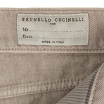 Brunello Cucinelli // Cotton Denim Jeans // Light Tan (44)