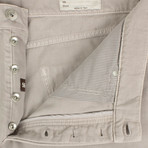Brunello Cucinelli // Cotton Distressed Denim Jeans // Tan (56)