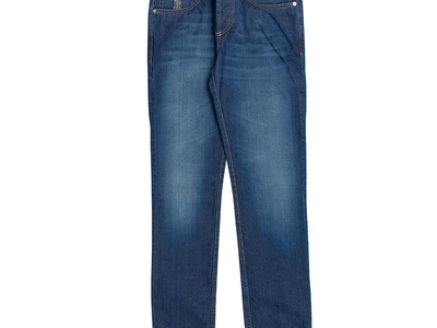 Photo of Designer Jeans Upscale Denim Brunello Cucinelli // Faded Denim Jeans // Blue (44) by Touch Of Modern