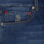 Brunello Cucinelli // Faded Denim Jeans // Blue (44)