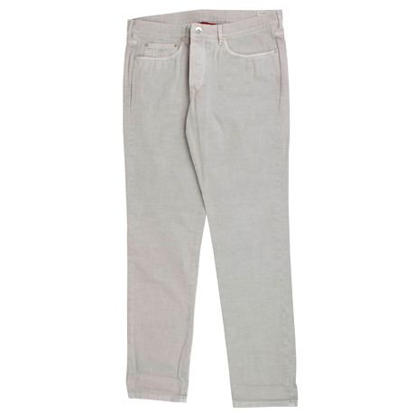 Brunello Cucinelli // Cotton Denim Jeans // Gray (44)