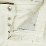 Brunello Cucinelli // Cotton Denim Jeans // Ivory (56)
