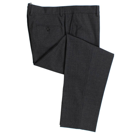 Wool Blend Dress Pants V1 // Gray (44)