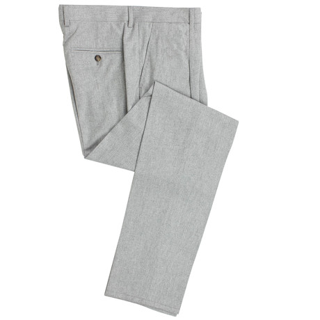 Brunello Cucinelli // Wool Blend Dress Pants V2 // Gray (54)