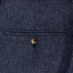 Brunello Cucinelli // Wool Blend Dress Pants // Blue (44)