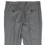 Herringbone Wool Dress Pants // Gray (Euro: 44)