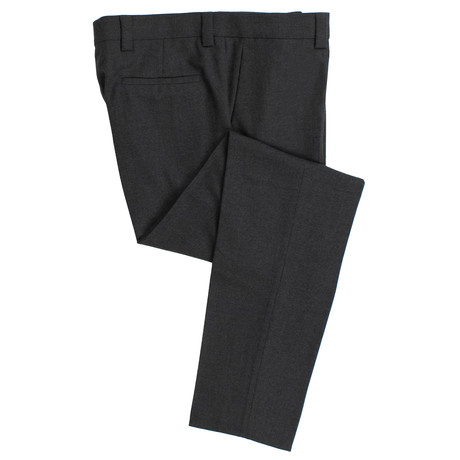 Wool Leisure Fit Dress Pants // Gray (44)