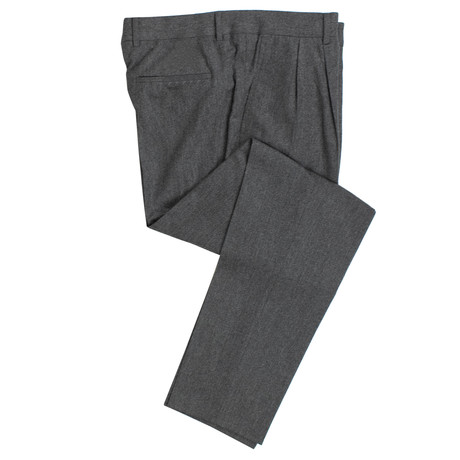 Brunello Cucinelli // Wool Blend Dress Pants V3 // Gray (54)