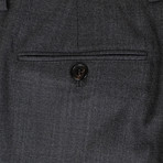 Brunello Cucinelli // Wool Pleated Dress Pants V1 // Gray (56)