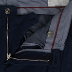 Brunello Cucinelli // Cotton Blend Dress Pants // Navy Blue (48)