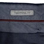 Cotton Dress Pants // Navy Blue (44)