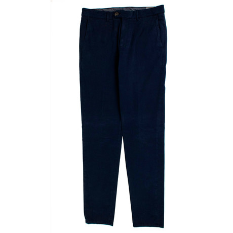 Brunello Cucinelli // Cotton Dress Pants // Navy (54)