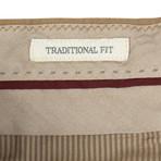 Brunello Cucinelli // Cotton Dress Pants // Tan (50)