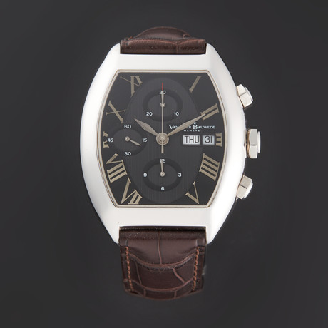Van Der Bauwede C35 Magnum Churchill Chronograph Automatic // 2352010204100 // Store Display