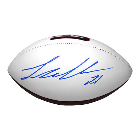 Landon Collins // Signed New York Giants White Panel Football