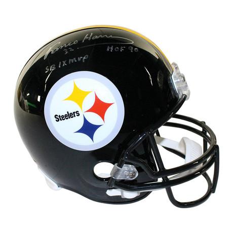 Franco Harris // Signed Pittsburgh Steelers Replica Helmet