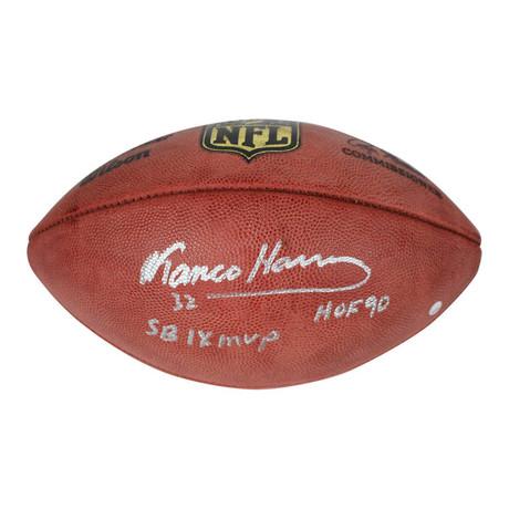 Franco Harris // Signed NFL Duke Football