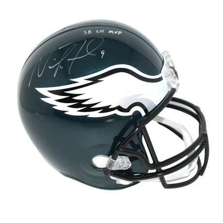 Nick Foles // Signed Philadelphia Eagles Full Size Replica Helmet