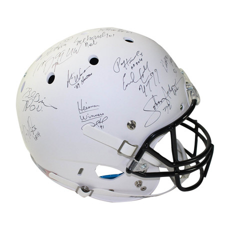 College Football's Best Signed Replica Helmet