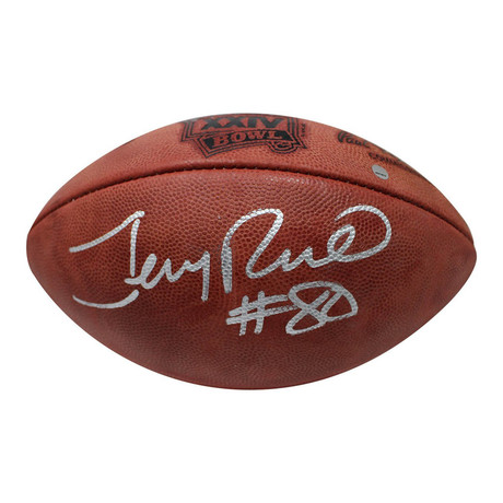 Jerry Rice // Signed Wilson Super Bowl XXIV Football
