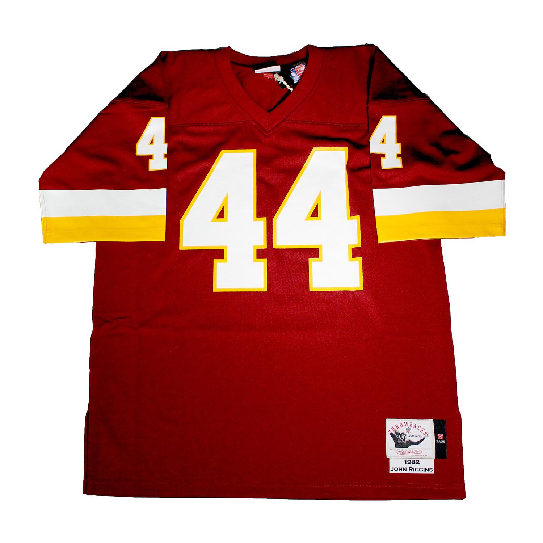 the latest 41911 7b3c8 John Riggins // Signed Washington Redskins Replica Mitchell ...