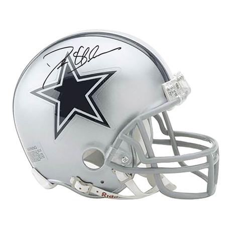 Deion Sanders // Signed Dallas Cowboys Mini Helmet
