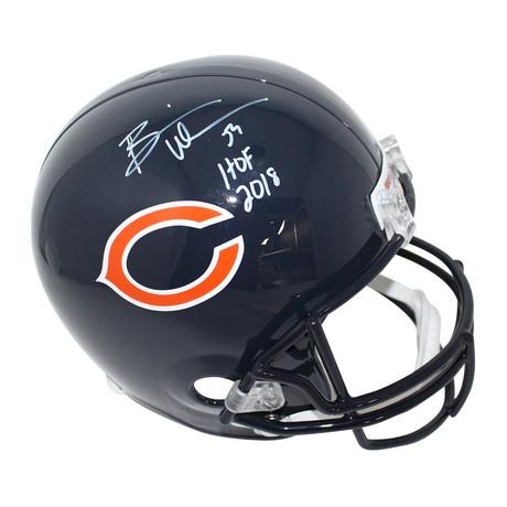 Brian Urlacher // Signed Chicago Bears Full Size Replica Helmet