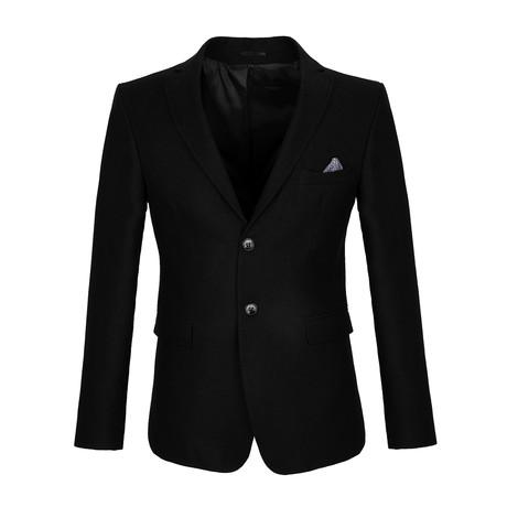Hall Blazer Jacket // Black (S)