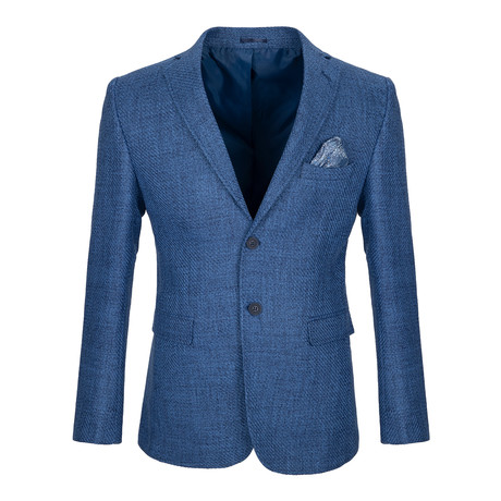 Edwards Blazer Jacket // Indigo (3XL)