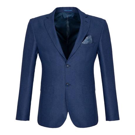 Cox Blazer Jacket // Indigo (S)