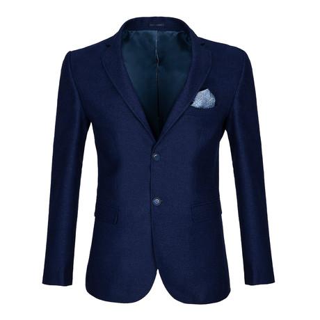 Hill Blazer Jacket // Navy (S)