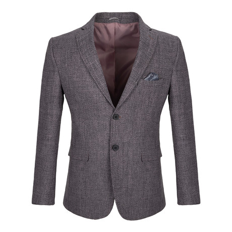 Wright Blazer Jacket // Gray (2XL)