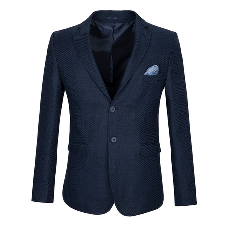 Ross Blazer Jacket // Navy (S)