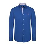 Walker Button Down Shirt // Sax (XL)